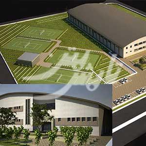 پروژه احداث سالن دو و میدانی اراک