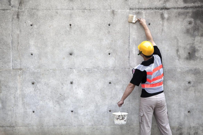 نحوه درزگیری نشتی دیوار بتنی