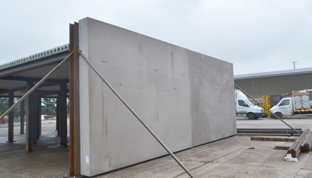 بتن پیش ساخته به عنوان دیوار